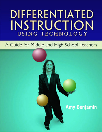 Differentiated Instruction Using Technology A Guide for Middle & HS Teachers book cover