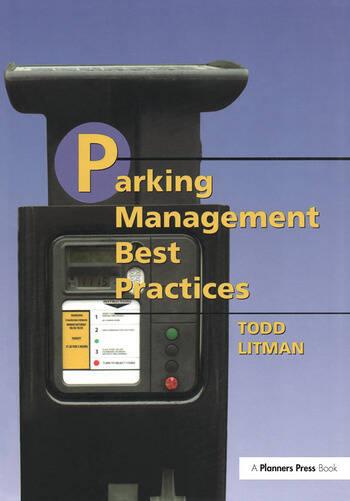 Parking Management Best Practices book cover