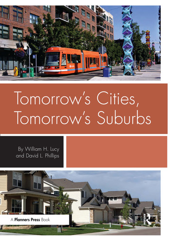 Tomorrow's Cities, Tomorrow's Suburbs book cover