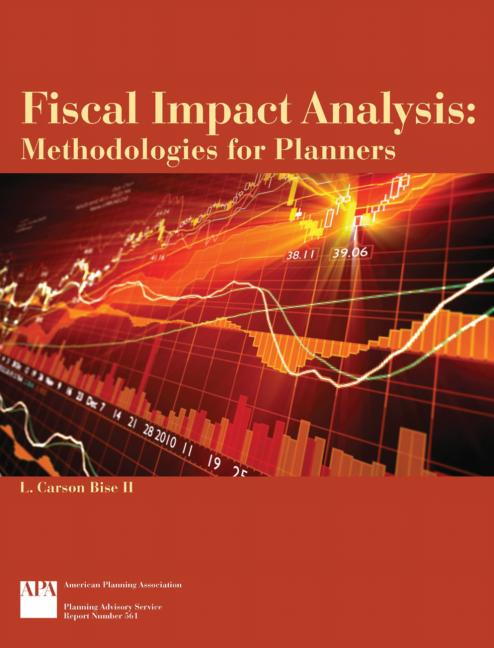 Fiscal Impact Analysis Methodologies for Planners book cover