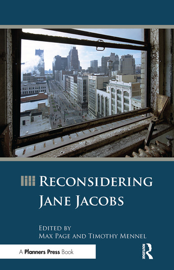 Reconsidering Jane Jacobs book cover