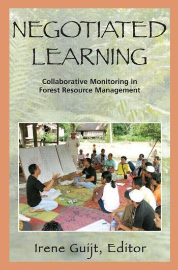 Negotiated Learning Collaborative Monitoring for Forest Resource Management book cover