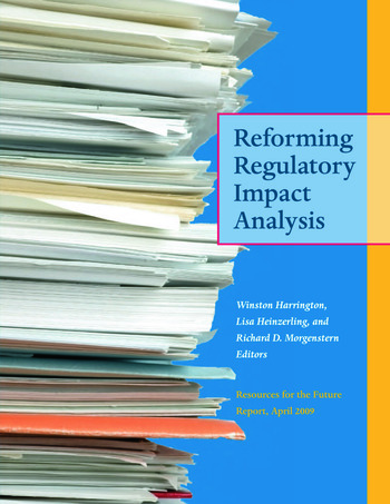 Reforming Regulatory Impact Analysis book cover