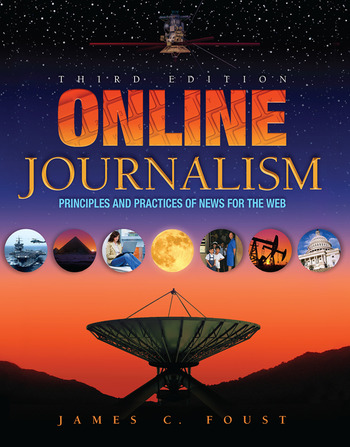 Online Journalism Principles and Practices of News for the Web book cover