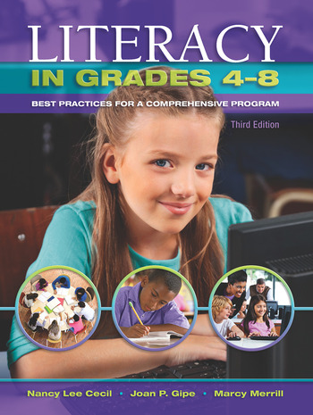 Literacy in Grades 4-8 Best Practices for a Comprehensive Program book cover