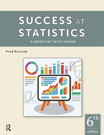 Success at Statistics A Worktext with Humor book cover