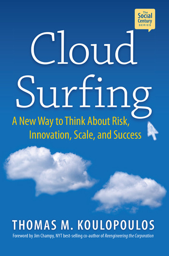 Cloud Surfing A New Way to Think About Risk, Innovation, Scale & Success book cover