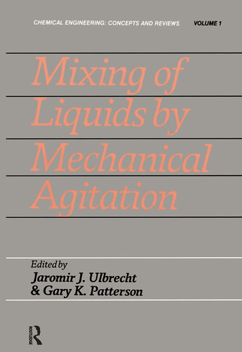 Mixing Liquids By Mechnanical book cover