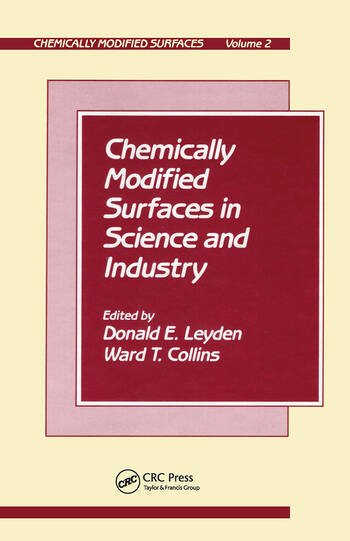 Chemically Modified Surfaces S book cover