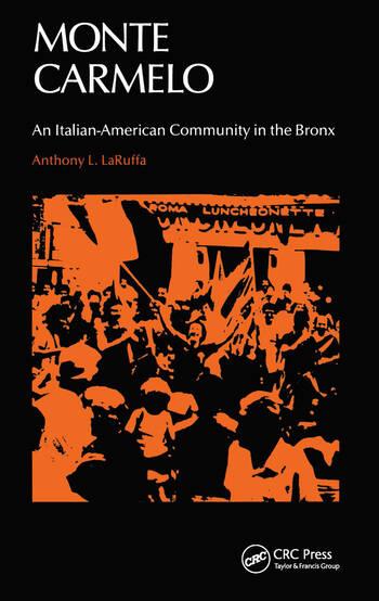 Monte Carmelo An Italian-American Community in the Bronx book cover