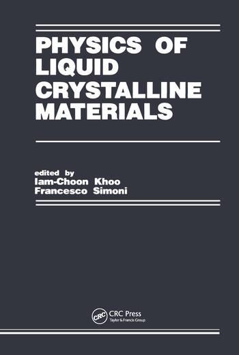 Physics of Liquid Crystalline Materials book cover