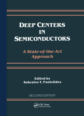 Deep Centers in Semiconductors book cover