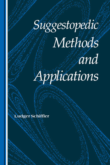 Suggestopedic Methods/Applicat book cover