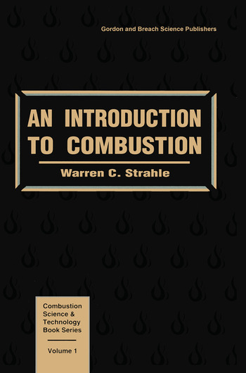 An Introduction to Combustion book cover