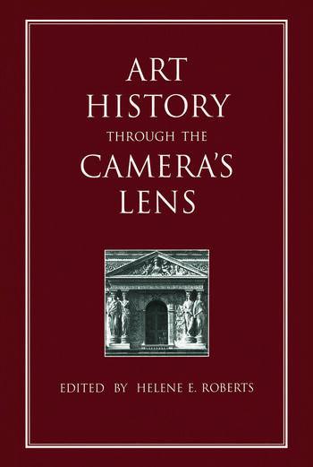 Art History Through the Camera's Lens book cover