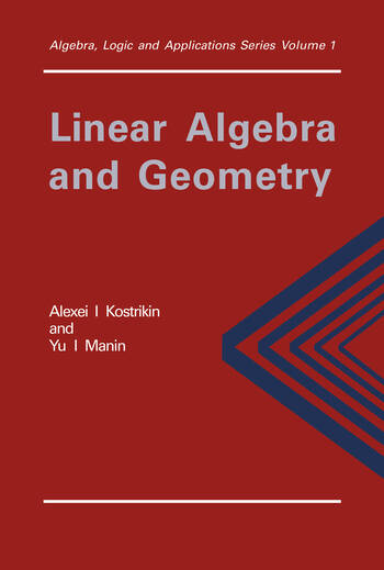Linear Algebra and Geometry book cover