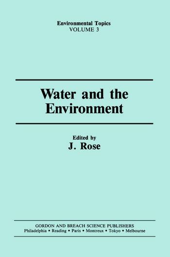 Water & the Environment book cover