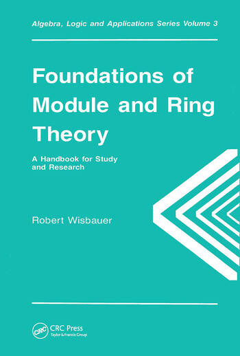 Foundations of Module and Ring Theory book cover