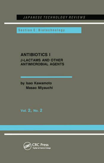 Antibiotics I book cover