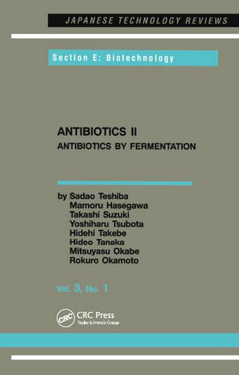 Antibiotics II book cover