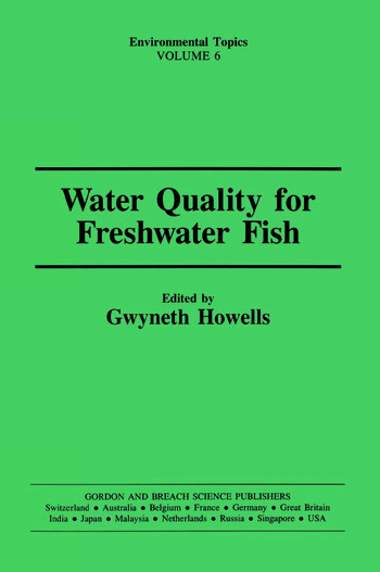 Water Qual Freshwater Fish book cover