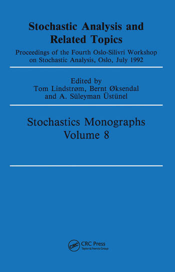 Stochastic Analysis and Related Topics book cover