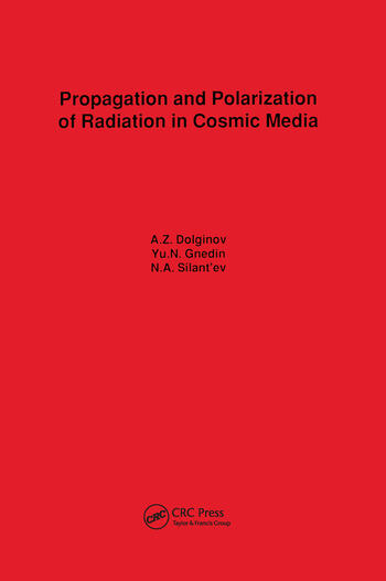 Propagation and Polarization of Radiation in Cosmic Media book cover