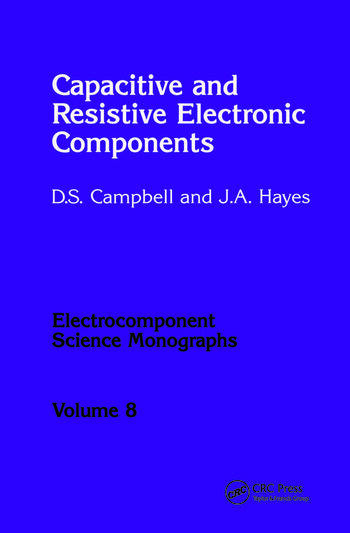 Capacitive and Resistive Electronic Components book cover