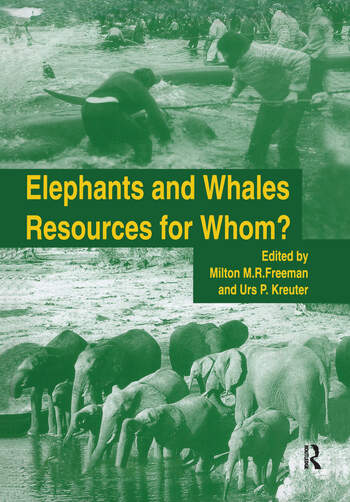 Elephants & Whales:Resources F book cover