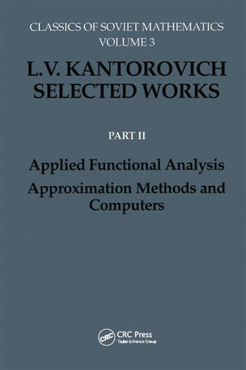 Applied Functional Analysis. Approximation Methods and Computers Applied Functional Analysis, Approximation Methods and Computers book cover