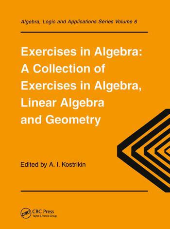 Exercises in Algebra book cover