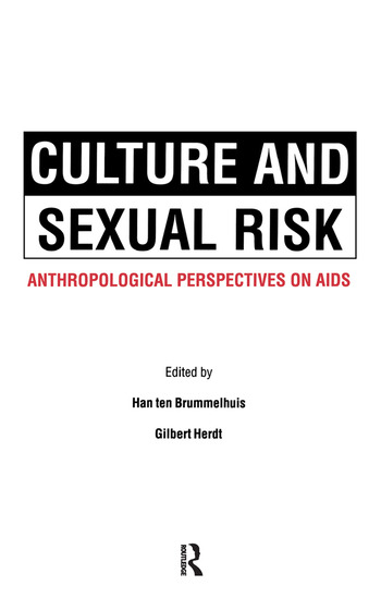 Culture and Sexual Risk book cover