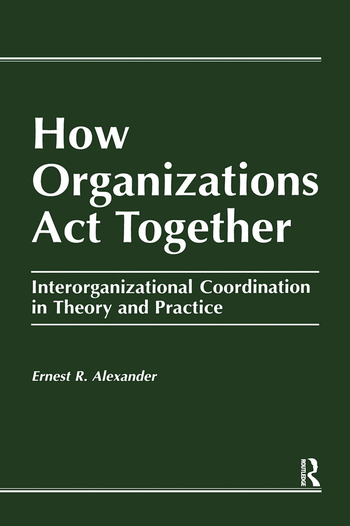 interorganizational relationships and learning Learning, and influence—from three major interorgani- zational theories: interorganizational networks theory, social information processing theory, and institu.