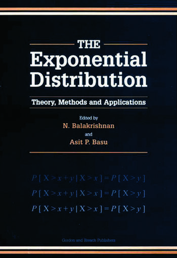 Exponential Distribution Theory, Methods and Applications book cover