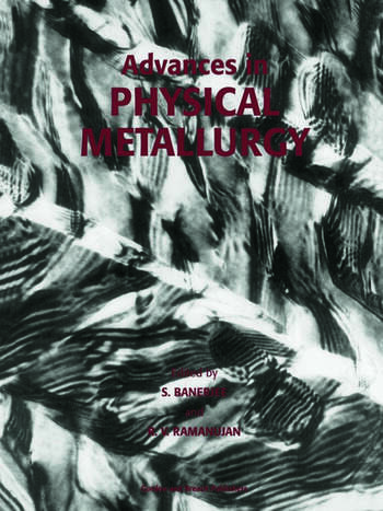 Advances in Physical Metallurgy book cover