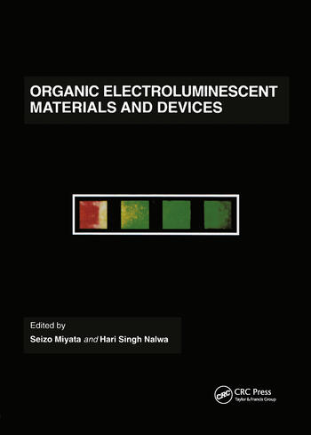 Organic Electroluminescent Materials and Devices book cover