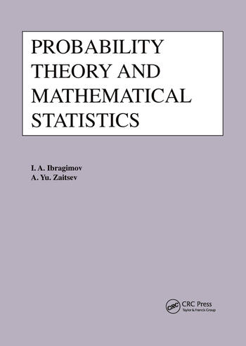 Probability Theory and Mathematical Statistics book cover