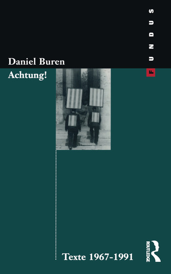Achtung! Texte 1969-1994 book cover