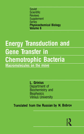 nrgy Transduct Gene Trans Chem book cover