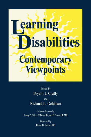 Learning Disabilities Contemporary Viewpoints book cover
