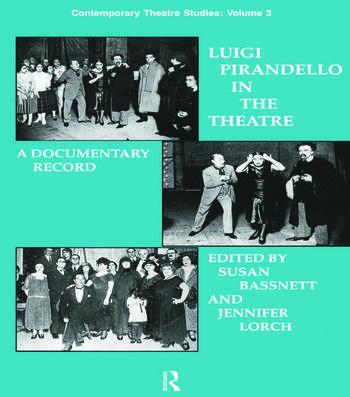 Luigi Pirandello in the Theatre book cover
