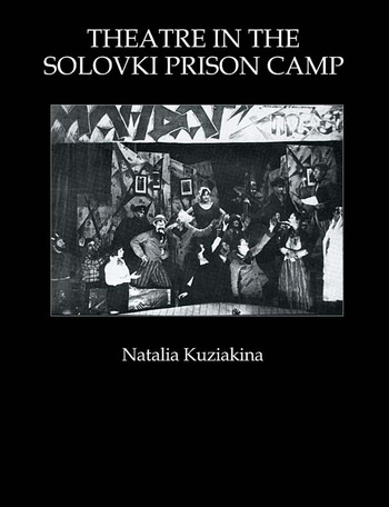 Theatre in the Solovki Prison Camp book cover