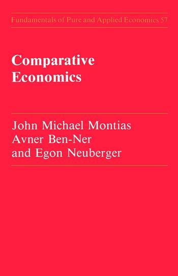 Comparative Economics book cover