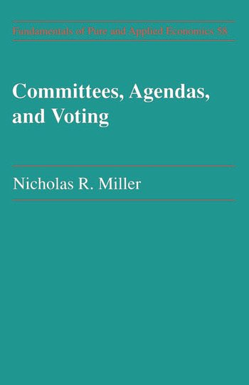 Committees Agendas & Voting book cover