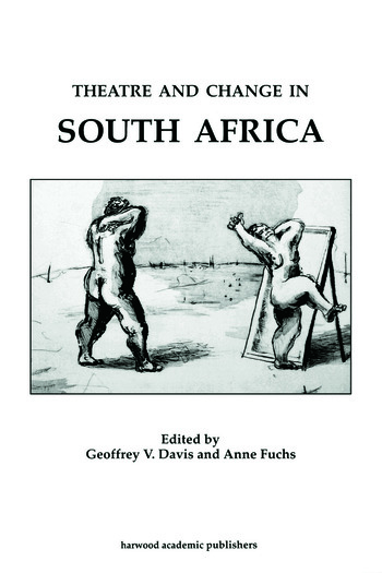 Theatre & Change/South Africa: book cover