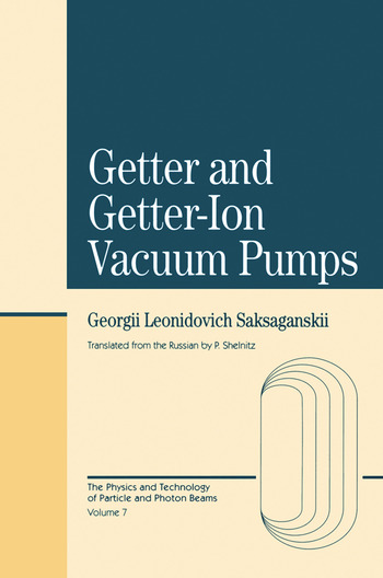 Getter And Getter-Ion Vacuum Pumps book cover