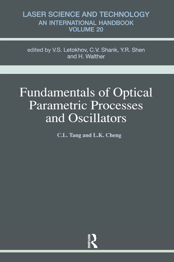 Fundamentals of Optical Parametric Processes and Oscillations book cover