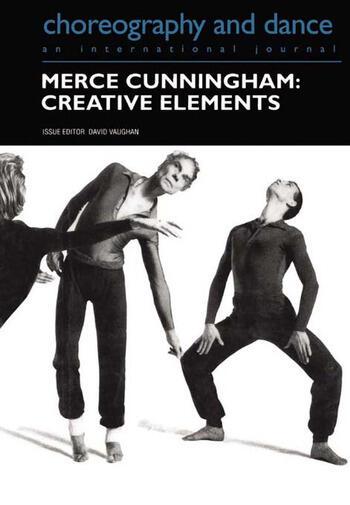 Merce Cunningham Creative Elements book cover
