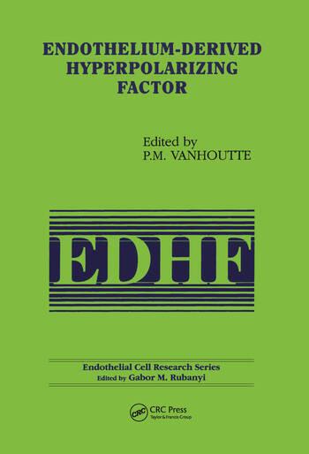 Endothelium-Derived Hyperpolarizing Factor book cover