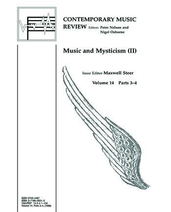 Music and Mysticism Parts 3 and 4 book cover